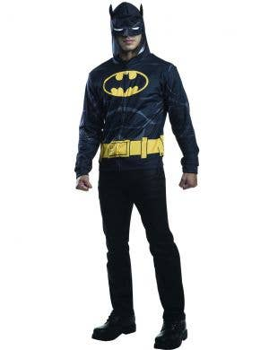 Superhero Hooded Batman Costume Jumper