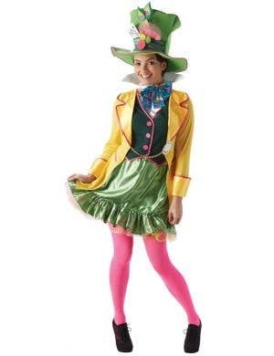 Lady Mad Hatter Women's Disney Fancy Dress Costume
