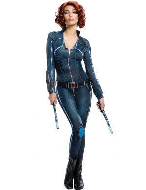 Black Widow Women's Avengers Superhero Costume Main Image
