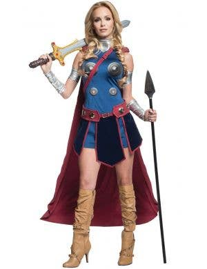 Women's Valkyrie Marvel Comics Fancy Dress Costume