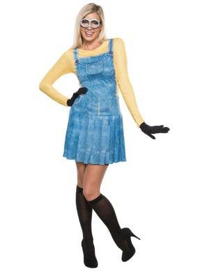 Women's Sexy Minion Movie Fancy Dress Costume