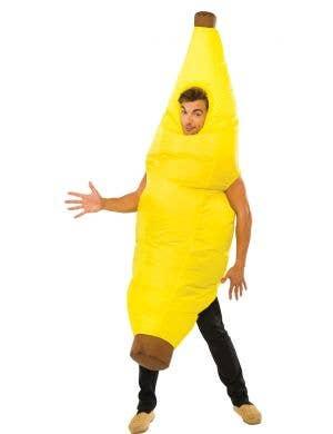 Funny Inflatable Yellow Banana Unisex Adult's Costume