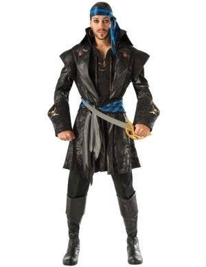Captain Blackheart Men's Pirate Fancy Dress Costume