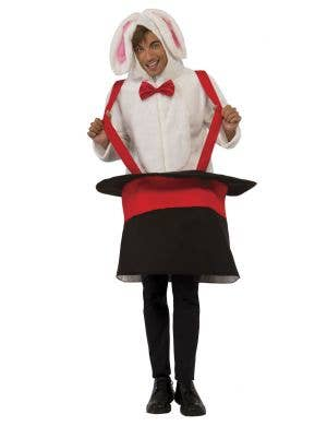 Adults Novelty Rabbit In A Hat Magician's Costume