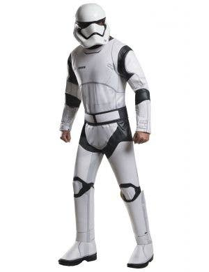 Deluxe Stormtrooper Men's Fancy Dress Costume Front View