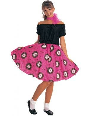 1950's Rock N Roll Women's Fancy Dress Costume