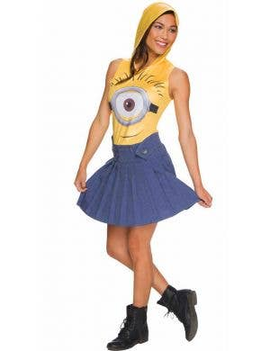 Despicable Me Women's Sexy Minion Fancy Dress Costume