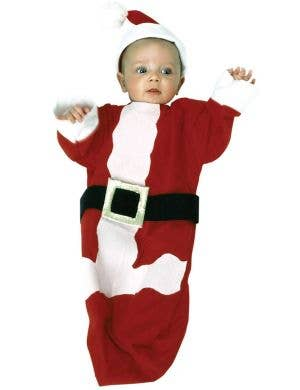 Rubie's Christmas Red And White Santa Infant Baby Bunting