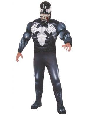 Marvel Venom Men's Muscle Chest Fancy Dress Costume