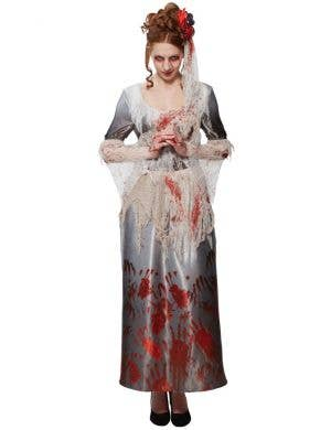 Bloody Hands Dress Women's Halloween Costume