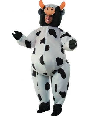 Adult's Funny Inflatable Cow Fancy Dress Costume
