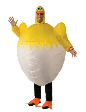 Adult's Novelty Easter Chicken Inflatable Costume