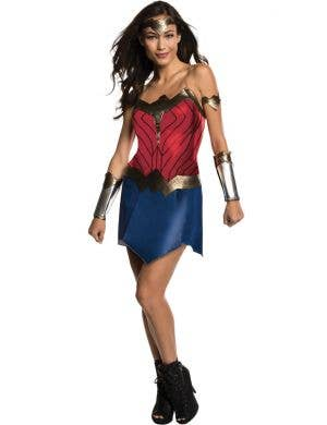 Wonder Woman Justice League Women's Fancy Dress Costume