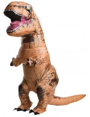Jurassic World Inflatable T-Rex Adult's Costume with Sound