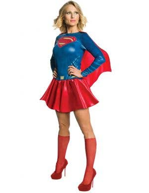 Justice League Women's Supergirl Fancy Dress Costume