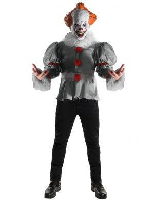 Officially Licensed IT Pennywise Horror Clown Men's Halloween Costume