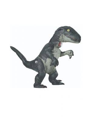 Jurassic World Inflatable Dinosaur Blue Adults Costume