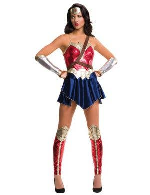Women's Justice League Wonder Woman Superhero Costume