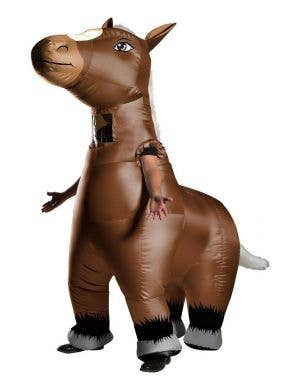 Mr Horsey Men's Funny Inflatable Costume