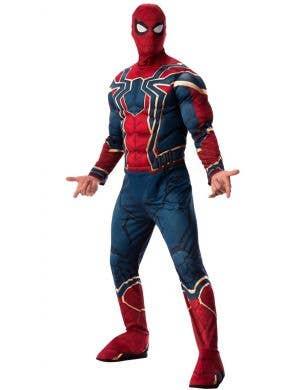 Iron Spider Deluxe Men's Infinity War Spiderman Costume