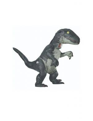 Jurassic World Blue Inflatable Dinosaur Adults Costume With Sound