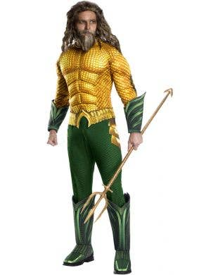 Aquaman Deluxe Muscular Men's Costume