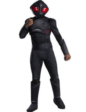 Aquaman Men's Black Manta Fancy Dress Costume