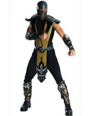 Scorpion Mortal Kombat Men's Gaming Character Costume Main Image