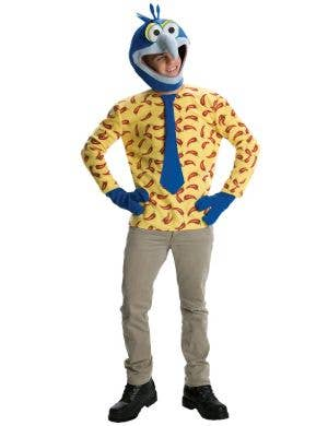 Gonzo Classic The Muppets Mens Fancy Dress Costume