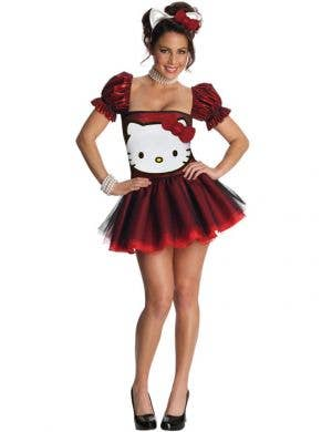 Hello Kitty Sexy Women's Costume in Red