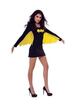 fe8e5e5cf66 Batgirl Women s Black Superhero Fancy Dress Costume ...