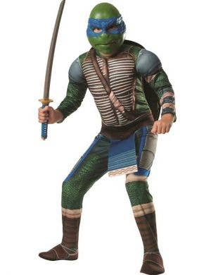 Men's Leonardo Teenage Mutant Ninja Turtles Costume Front