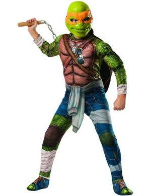 Michelangelo Men's Teenage Mutant Ninja Turtles Costume Front