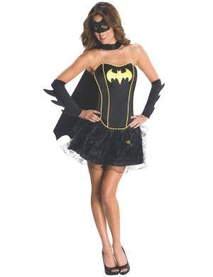 Batgirl Women's Black Sexy Superhero Fancy Dress Costume
