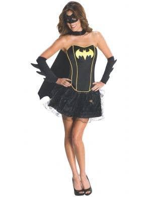 Batgirl Women's Black Sexy Superhero Fancy Dress Costume