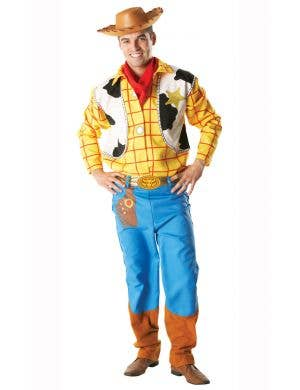 Men's Woody Toy Story Fancy Dress Costume Main Image