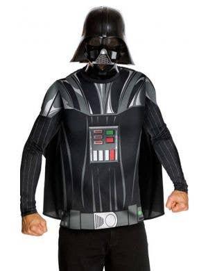 Star Wars Darth Vader Men's Costume Shirt and Mask Image