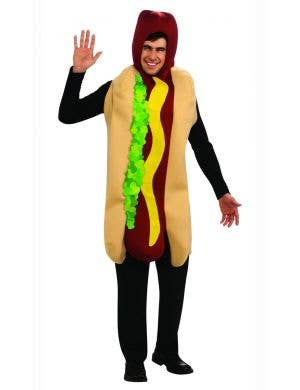 Funny Hot Dog Unisex Adult's Fancy Dress Costume
