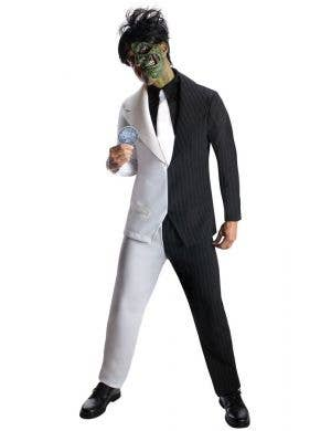 Two Face Men's Deluxe Gotham City Villain Cosutme