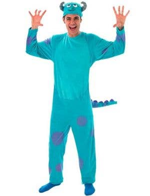 Monsters University - Sulley Adult Onesie Costume