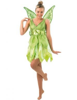 Women's Sassy Tinkerbell Peter Pan Disney Costume Main Image