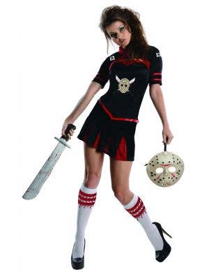 Friday the 13th Jason Voorhees Women's Halloween Costume Main Image