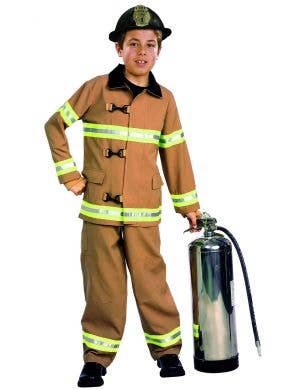 Boys Fire Chief Fancy Dress Book Week Costume