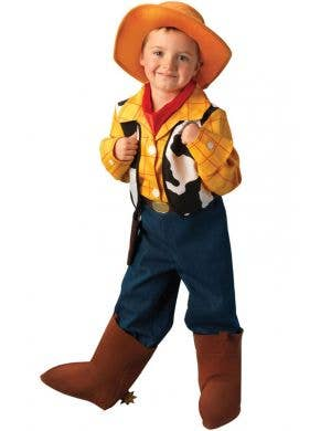 Boy's Woody Toy Story Cowboy Costume Front View