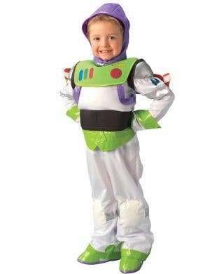 Boy's Buzz Lightyear Toy Story Disney Costume Front