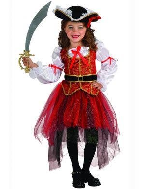 Princess of the Seas Girl's Pirate Costume