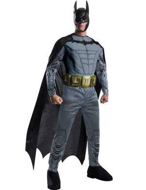 Bat,mam Arkham Men's Muscle Chest Superhero Costume Front