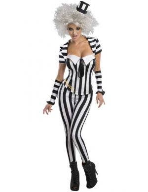 Beetlejuice Sexy Women's Halloween Costume