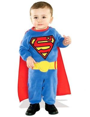 Toddler Boys Classic Superman Fancy Dress Costume