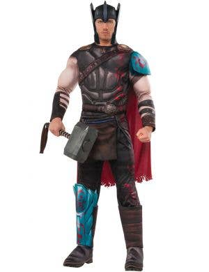 Men's Marvel Thor Ragnarok Battle Gladiator Costume Main Image
